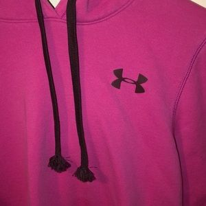 Under Armour Sweaters - Under Armour pink hoodie